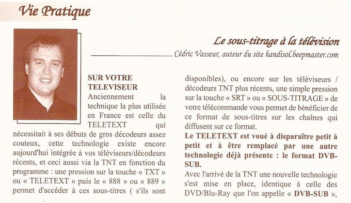 article AICHB partie 1