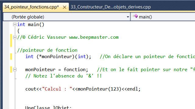 C++ avancé