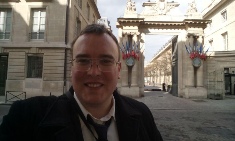 Cédric Vasseur à l'assemblée nationale