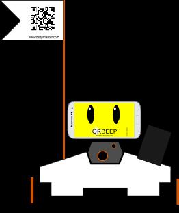 QRBeep le robot spécialiste du QRCodes